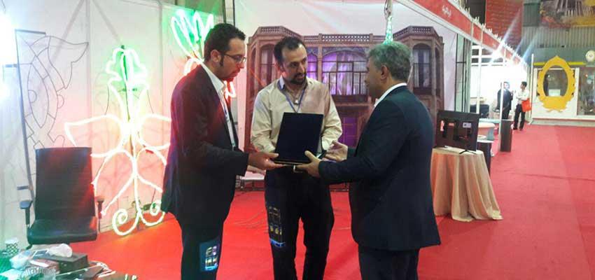 حضور پایا رسا الکترونیک در نمایشگاه مبلمان شهری اصفهان