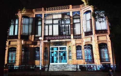 ویدئو مپینگ خانه ساختمان هنرمندان اصفهان