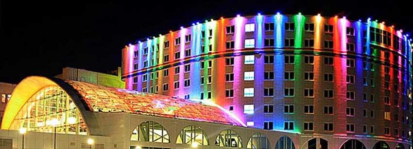 نور پردازی ساختمان
