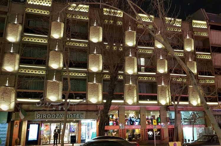 نورپردازی هتل پیروزی